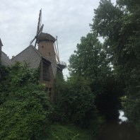 windmolen en gracht, Kalkar